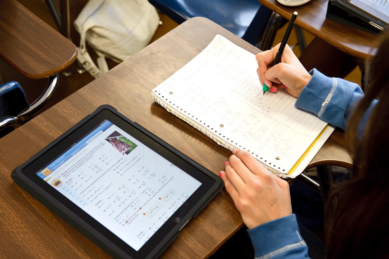 iPad op Rozenberg S.O.